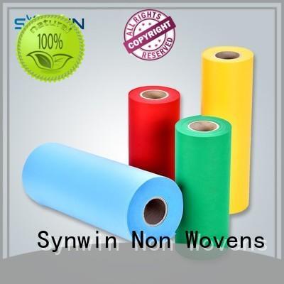Synwin polypropylene pp non woven series for wrapping