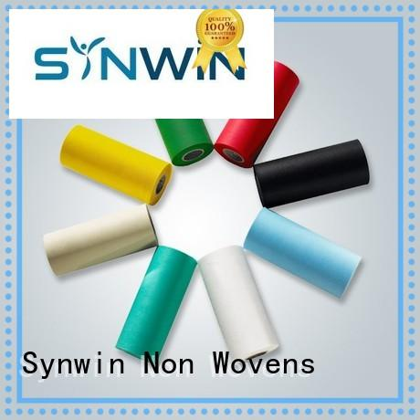 Synwin Non Wovens Brand bacteria yellow side diaper pp woven fabric