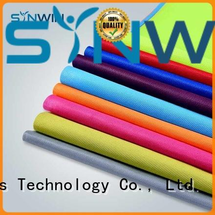 Synwin Non Wovens colorful pp woven from China for wrapping