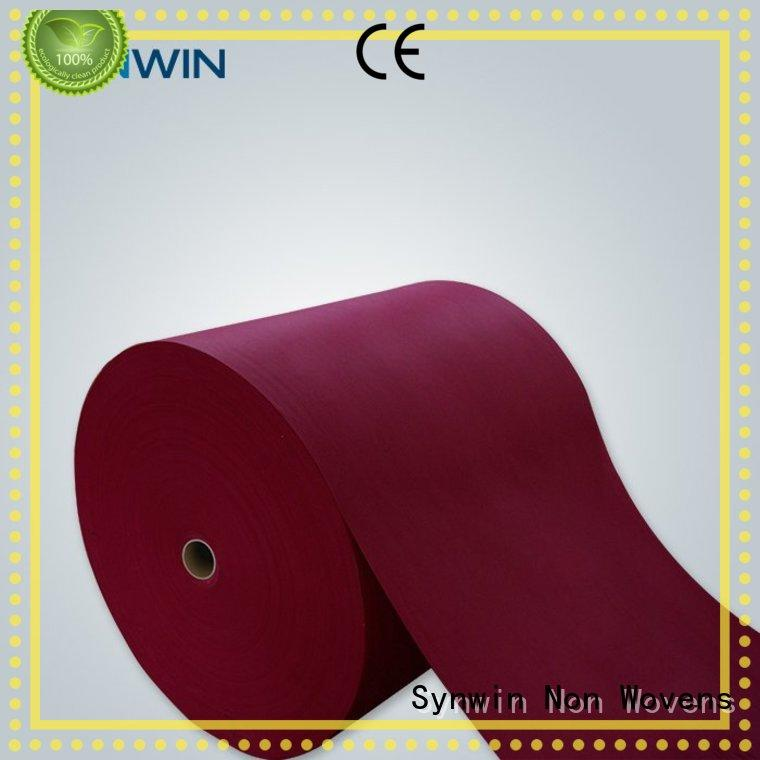 raw consumable pp woven fabric Synwin Non Wovens Brand