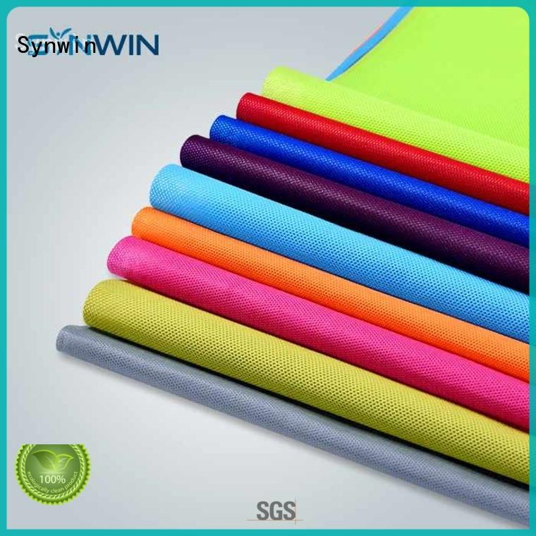 Synwin pp non woven fabric manufacturer for packaging