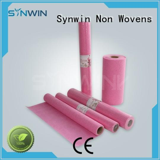 supplies woven pocket Synwin Non Wovens Brand christmas gift wrapping paper manufacture