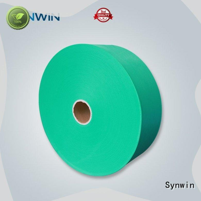 Synwin yellow pp non woven fabric manufacturer for packaging