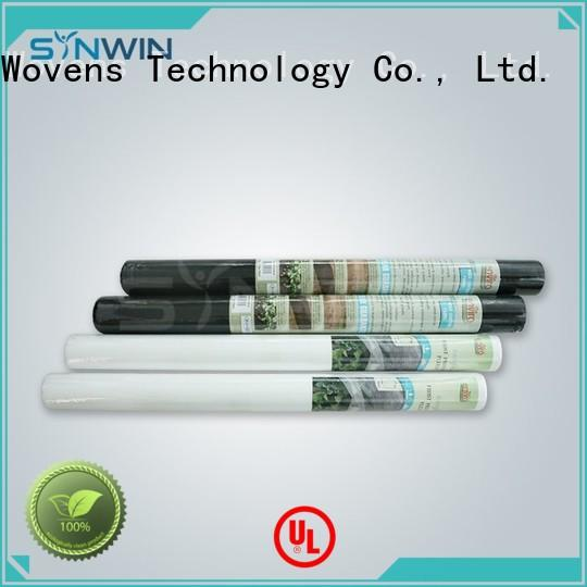 non woven polypropylene landscape fabric disposable Synwin Non Wovens Brand weed control fabric