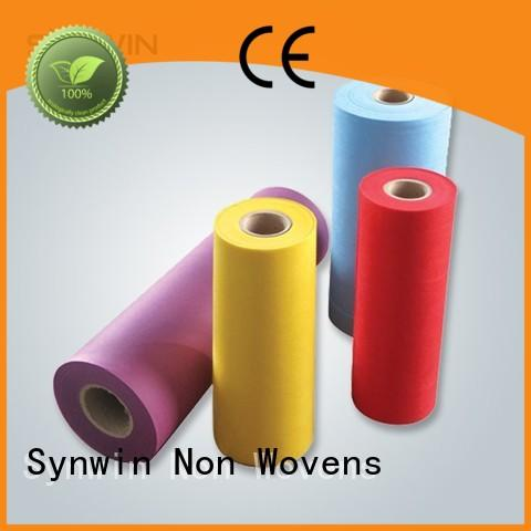 Synwin Non Wovens 30gsm pp woven fabric manufacturer for household