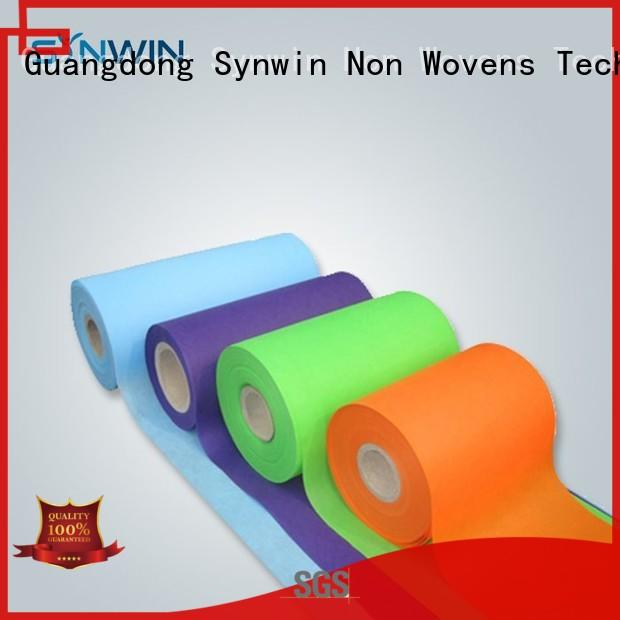 Colorful Nontoxic SS Spunbond Nonwoven Fabric