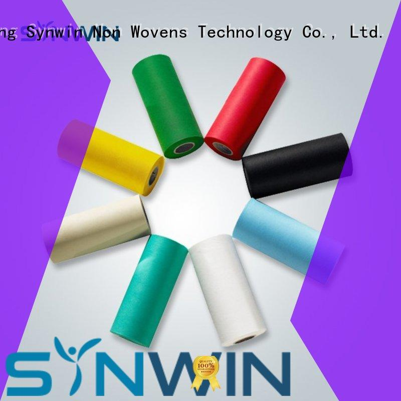 perforated antibacteria OEM pp woven fabric Synwin Non Wovens
