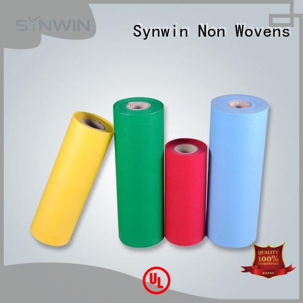 Synwin Non Wovens maketoorde pp woven fabric manufacturer for packaging
