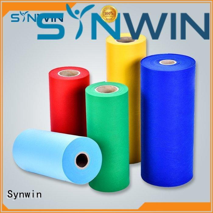 Synwin disposable spunbond polyester factory for home