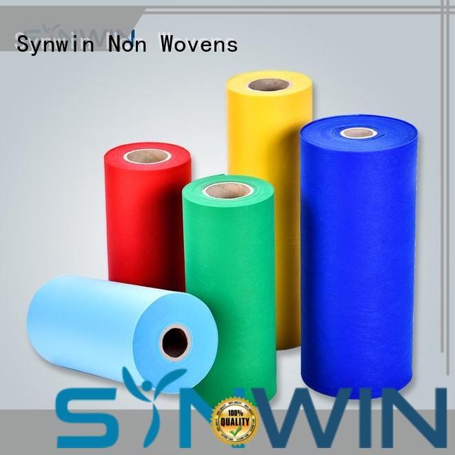 color spunbond polypropylene factory for tablecloth