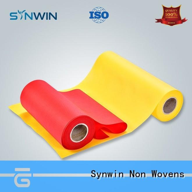 Synwin yellow pp non woven directly sale for wrapping