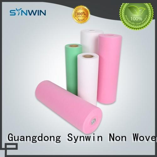 bag dot ecofriendly pp woven fabric Synwin Non Wovens Brand company