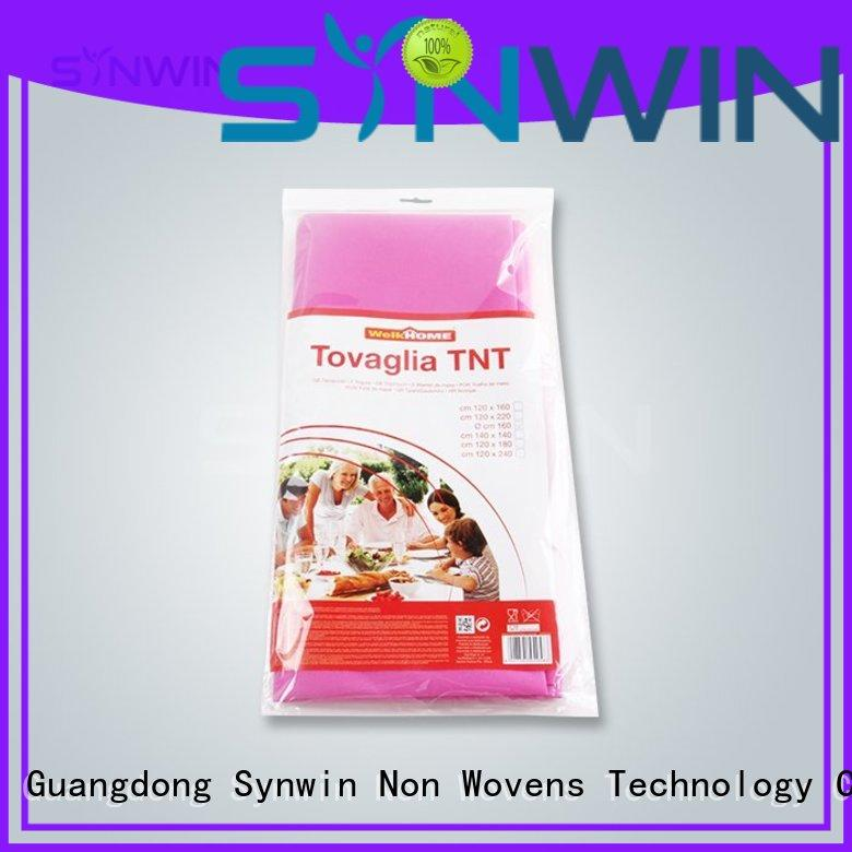 Synwin reliable party table covers design for home