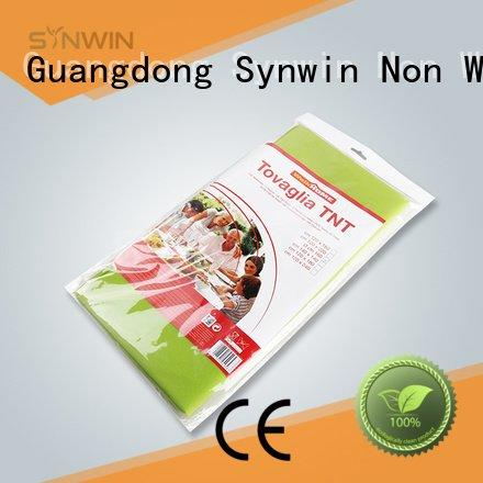 non woven cloth woven round table covers table