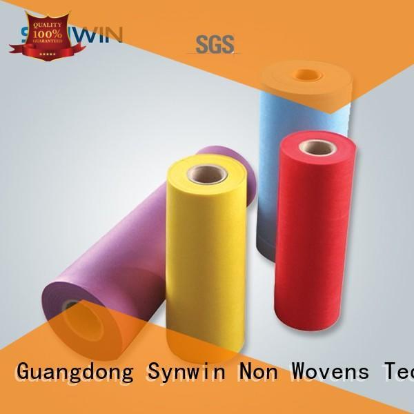 sofamattress Custom flower pp woven fabric mat Synwin Non Wovens