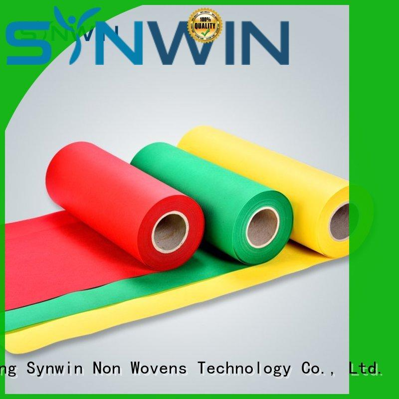 Synwin spunbond pp non woven customized for wrapping