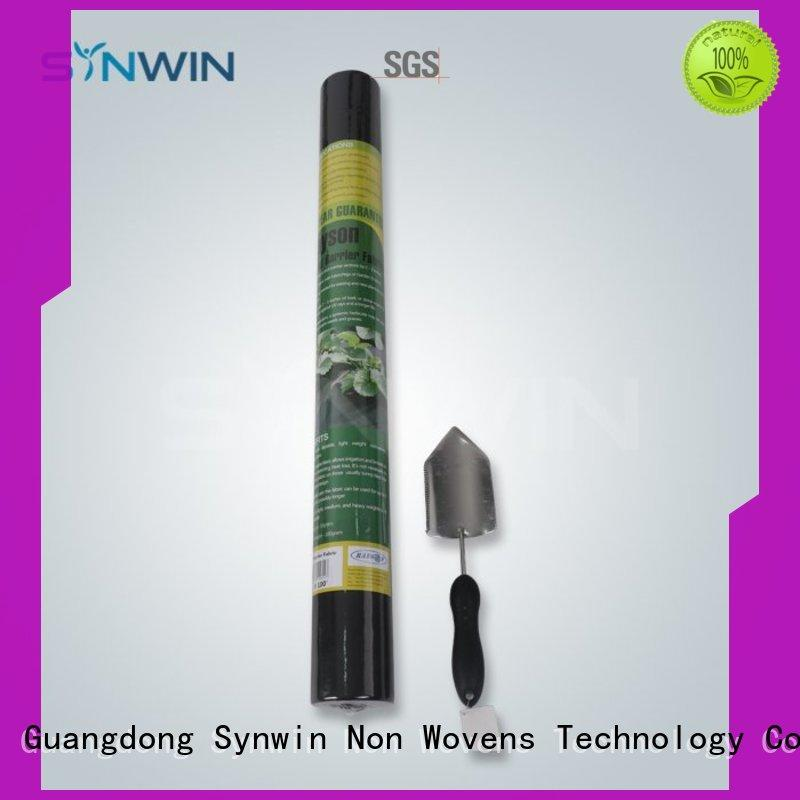 Synwin weed control fabric manufacturer for farm