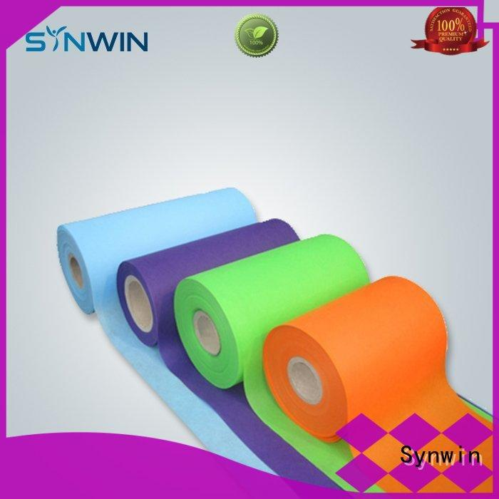 Synwin pink spunbond polypropylene with good price for tablecloth