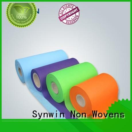 Synwin raw spunbond polyester factory for tablecloth
