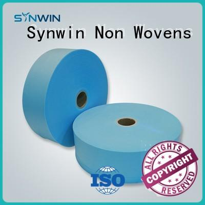 30gsm Blue Color SS Nonwoven Fabric For Disposable Shoe Cover