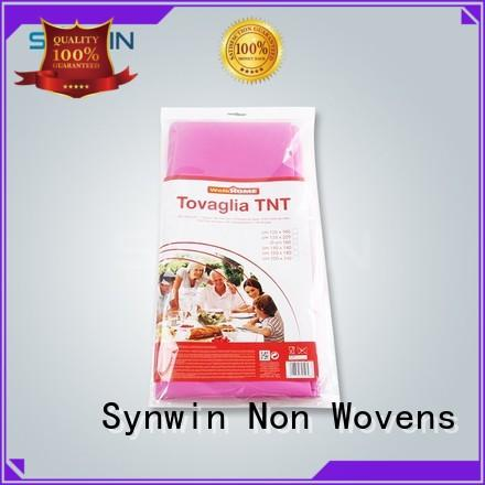 approved non woven cloth design for tablecloth Synwin Non Wovens