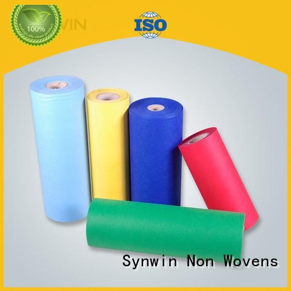 bright pp non woven fabric customized for wrapping