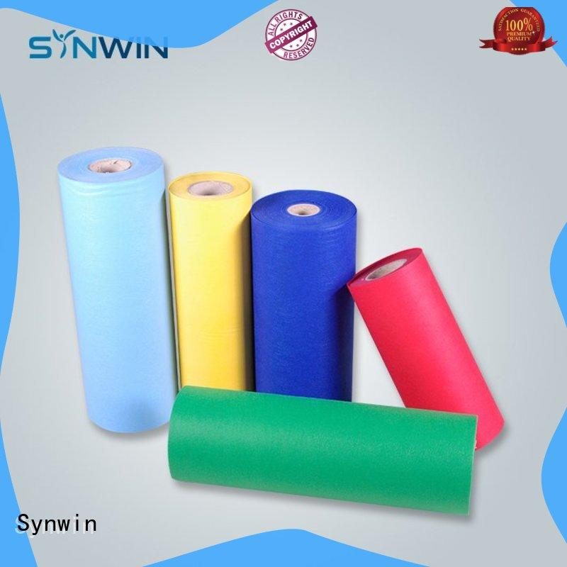 Synwin sanitary pp non woven fabric manufacturer for wrapping