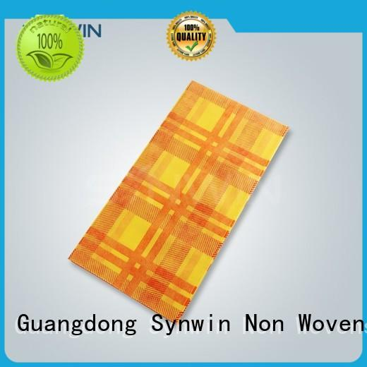 Synwin Non Wovens garment party table covers inquire now for hotel