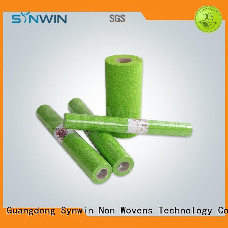 embossed gift wrapping paper color for packaging Synwin Non Wovens