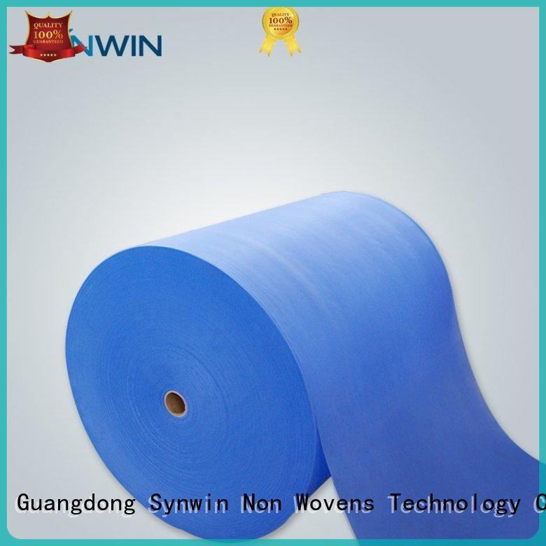 Synwin Non Wovens Brand green sgs pp woven fabric ss factory