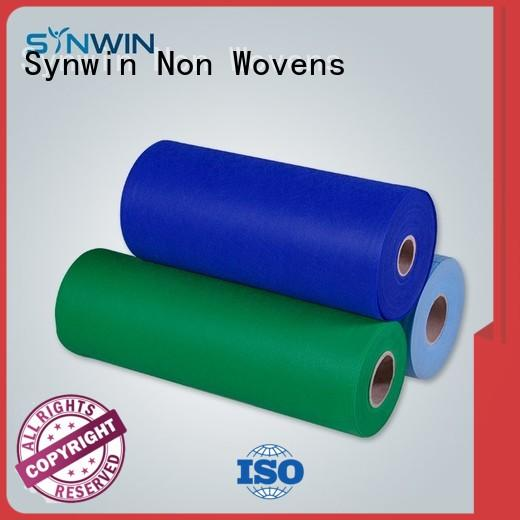 disposable ecofriendly table OEM sms nonwoven Synwin Non Wovens