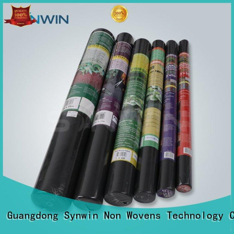 Wholesale disposable weed control fabric Synwin Non Wovens Brand