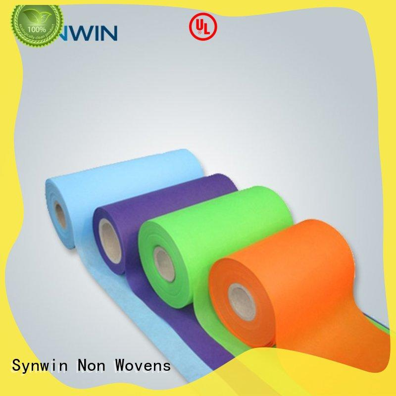 Synwin spunbond polyester with good price for hotel