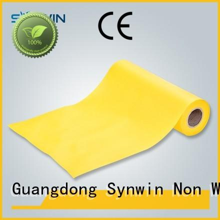 Yellow Color Spunbond Nonwoven Fabric For Sofa