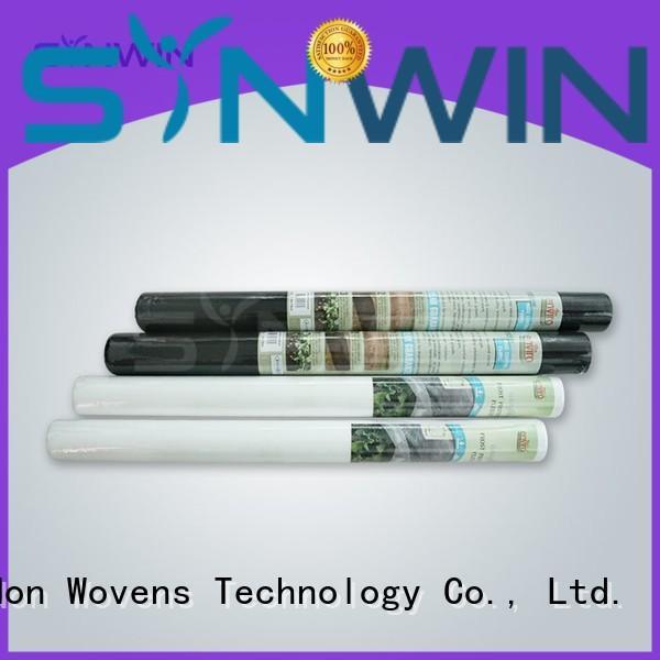non woven polypropylene landscape fabric strength Synwin Non Wovens Brand weed control fabric