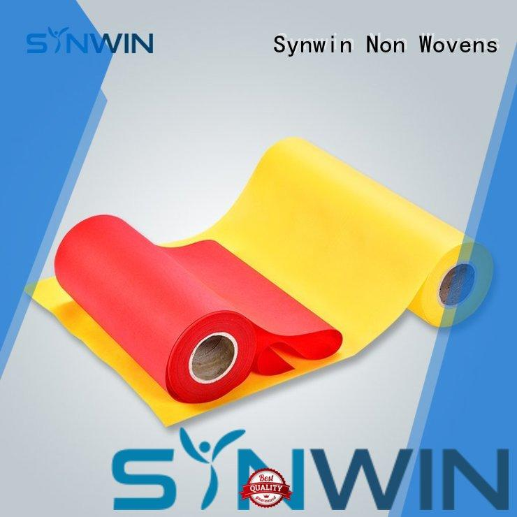 perforated side Synwin Non Wovens Brand pp non woven fabric factory