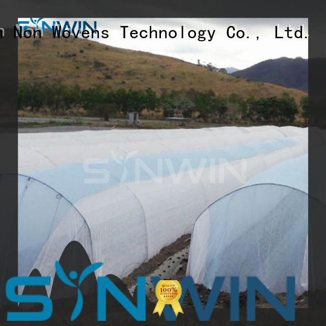 Synwin spunbond frost protection fleece with good price for home