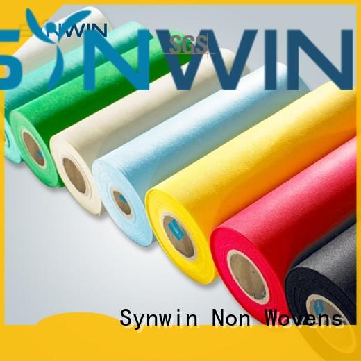 Synwin material pp non woven fabric from China for wrapping