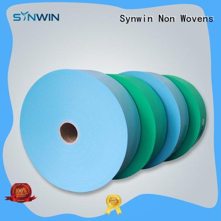 Synwin 100 pp non woven fabric manufacturer for packaging